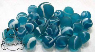 Blueberry Freeze Mega Marble Glass White Blue Berry 1 Shooter Game Fun
