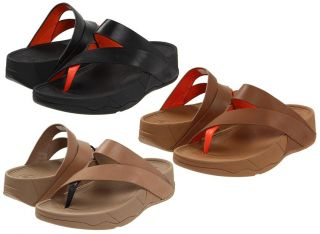 FitFlop Sling Leather Womens Thong Sandal Shoes Sizes