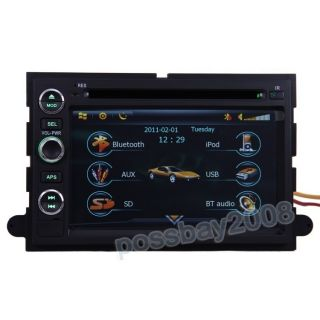 2005 09 Ford Mustang Car GPS Navigation Bluetooth iPod Radio DVB T TV