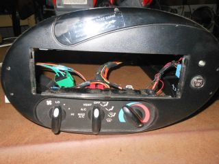 98 99 Ford Taurus Mercury Sable Heat Control Aftermarket Radio Bezel