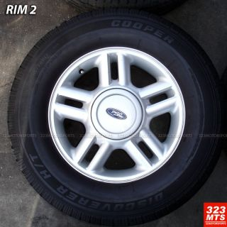 17 F150 Navigator Used Ford Expedition Rims Tire Pkg