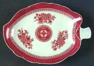manufacturer spode pattern fitzhugh red piece relish gravy underplate