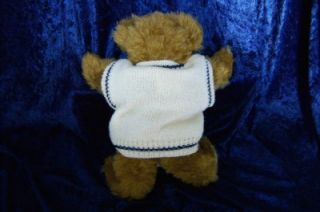 Handmade Jointed Teddy Bear from England with Passport and England