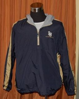 Los Osos High School Football Pullover Hooded Nylon Windbreaker Jacket