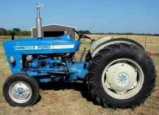 Ford 3600 Diesel Tractor with Power Steering Rebuilt