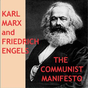 THE COMMUNIST MANIFESTO, KARL MARX CLASSIC AUDIOBOOK LITERATURE  CD