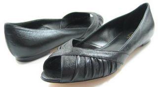 Fratelli Cavallini Fedra Black Womens Shoes Flats 6 5 M