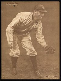 1909 M101 2 Sporting News Supplement Fred Clarke