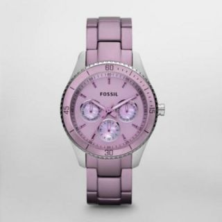 Fossil Stella Multifunction Purple Aluminum Womens Watch ES3038