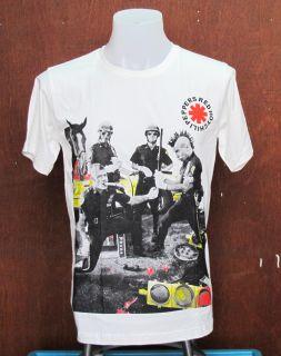 Red Hot Chili Peppers John Frusciante Pop Art Indie Men T Shirt Tee