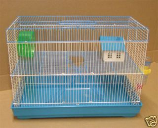 Rat Mouse Hamster Gerbil Cage Cages Two Levels 3674