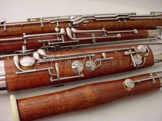 Beautiful Fox Renard maple wood Bassoon model 222 * * * * * just