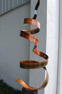 Modern Abstract Free Standing Metal Art Sculpture S3 by Artist Jon