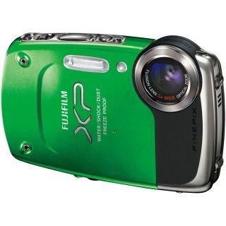 Fujifilm Waterproof 14 MP 5X Zoom Digital Camera Underwater Recording