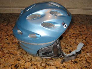 Giro Fuse Ski Snowboard Scooter Bike Helmet X Small XS Ice Blue Youth