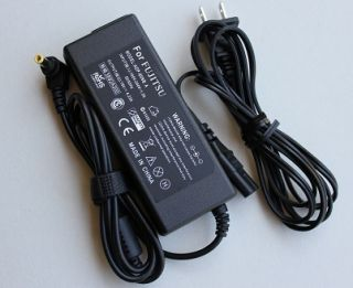 Fujitsu LifeBook T Series Laptop Power Supply Cord Cable AC Adapter