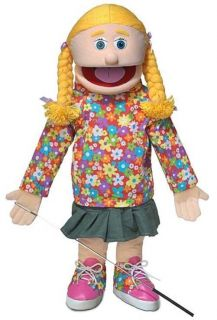 25 Pro Puppets Full Body Girl Puppet Cindy