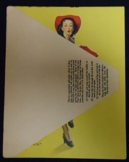 Pin UPS 12 Girls Elvgren Frahm Mailer Brochures Set4