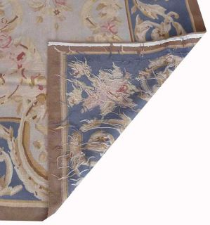 x6Hand Woven Wool French Aubusson Flat Weave Rug Brand New Free