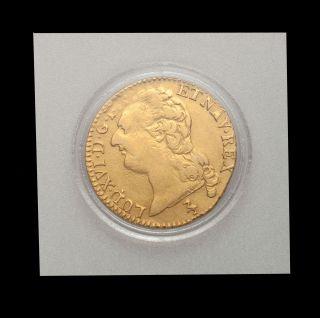 1786 a france louis xvi gold louis d or