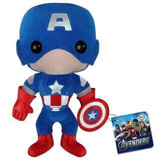 Funko Avengers Movie Captain America Marvel Plushies Plush Doll
