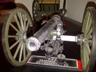 CIVIL WAR Confederate PARROTT GUN Ltd #5 George Funt Gettysburg Cannon