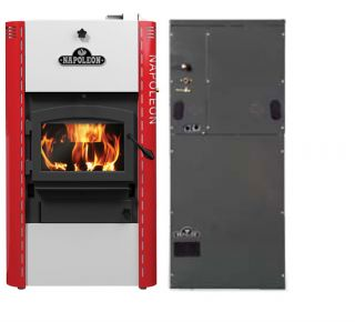 Wood Oil Electric Gas Furnace Hybrid Efficient Combination