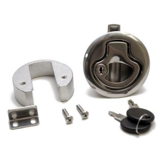 Chrome Plated Boat Stainless Steel Flush Pull Locking Latch