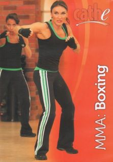 Cathe Friedrich STS Cardio MMA Boxing DVD New SEALED Workout Fitness