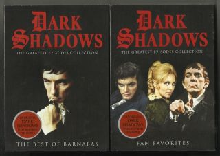 DARK SHADOWS Fan Favorites Best of Barnabas new sealed 2 disc DVD set