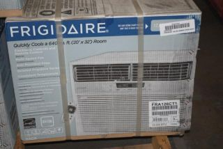 Frigidaire 12K BTU Energy Star White Air Conditioner FRA126CT1