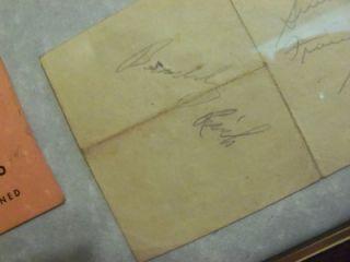 on Same Page Frank Sinatra Buddy Rich w 400 Restaurant Card