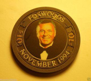 1994 Frank Sinatra Foxwoods $10 Casino Chip Great Item