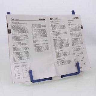 Holder Reading Desk Book Stand Folding Bookrest Bookstand White