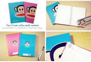 Paul Frank Julius stationery set_notebook, mini notepad, memo pad