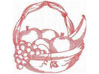 JN Fruit Baskets Machine Embroidery Designs