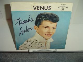 Frankie Avalon Venus 45 Record with Picture Sleeve 1959