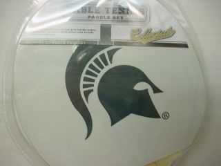 STATE SPARTANS SPARTY Table Tennis Paddle PING PONG NEW FRANKLIN