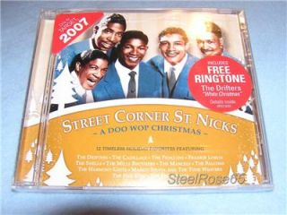 New Street Corner St Nicks A Doo Wop Christmas Music CD