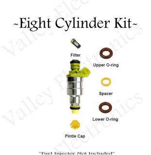 Ford Lincoln Mercury Fuel Injector Service Repair Kit O Rings Pintle