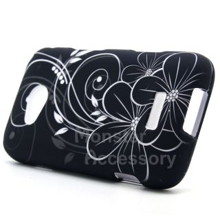 White Vine Hard Case Cover for Samsung Galaxy Victory 4G LTE Phone