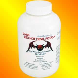 lb Food Grade Potassium Hydroxide Red Devil Potash