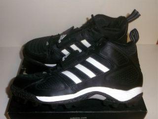 Adidas Corner Blitz 3 4 Jr Youth Football Cleats Black White Various