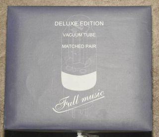 Pair Full Music Tube 211 VT4C Gold Pin