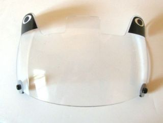 Universal Clear Oakley Football Helmet Face Guard Shields Visor