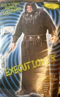 Fun World Executioner Mens Big Tall Adult Costume Robe Up to 300Lbs