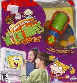Nick Tunes PC CD Game Microphone Music 076930997215