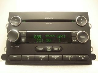 Ford Edge Lincoln MKX Radio 6 CD Disc Changer  w O Nav 2008 2009