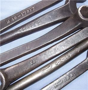 vintage ford model t a tool kit wrenches antique tools plus 5 z 152