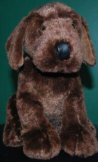 Ganz Plush Stuffed Animal Toy Chocolate Lab Puppy Dog